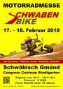 """Wir stellen auf der """"Schwabenbike""""-Motorrad-Messe aus…"""
